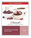 Cake With Fresh Berries Word Templates