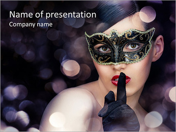 Masked Ball PowerPoint Template