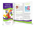 Bright Balloons Brochure Template