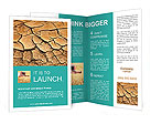 Dried Soil Brochure Templates