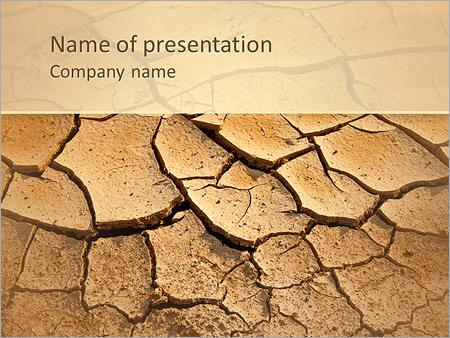 Sols secs Modèles des présentations  PowerPoint