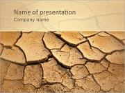 Dried Soil PowerPoint Templates