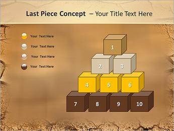 Sols secs Modèles des présentations  PowerPoint - Diapositives 11