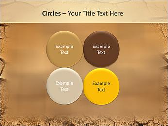 Sols secs Modèles des présentations  PowerPoint - Diapositives 18