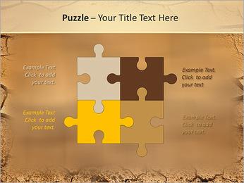 Sols secs Modèles des présentations  PowerPoint - Diapositives 23