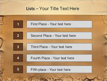 Sols secs Modèles des présentations  PowerPoint - Diapositives 3
