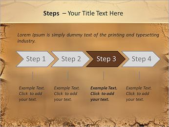 Sols secs Modèles des présentations  PowerPoint - Diapositives 4