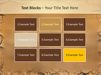 Sols secs Modèles des présentations  PowerPoint - Diapositives 48