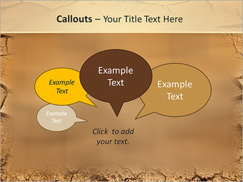 Sols secs Modèles des présentations  PowerPoint - Diapositives 53