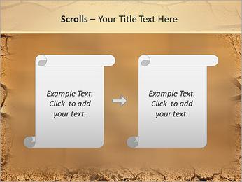 Sols secs Modèles des présentations  PowerPoint - Diapositives 54