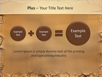 Sols secs Modèles des présentations  PowerPoint - Diapositives 55