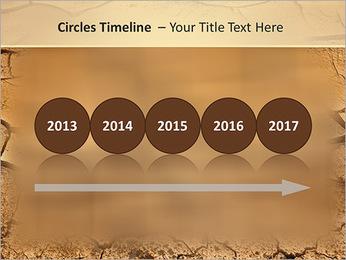 Sols secs Modèles des présentations  PowerPoint - Diapositives 9