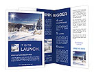 Winter Nature Brochure Templates