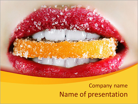 Sugar Candy PowerPoint Template