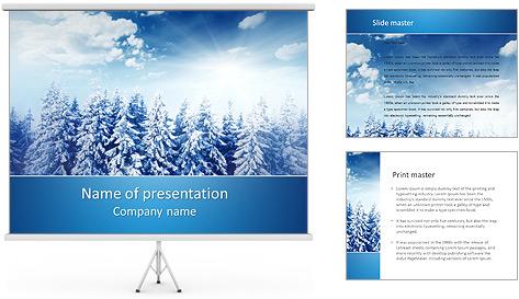 Winter Beauty PowerPoint Template Backgrounds ID 0000004108 – Winter Powerpoint Template