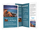 Amazing Rock View Brochure Templates