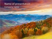 Autumn Scenery PowerPoint Templates