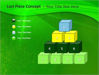 Plante verte dans Sun Light Modèles des présentations  PowerPoint - Diapositives 11