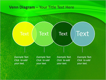 Plante verte dans Sun Light Modèles des présentations  PowerPoint - Diapositives 12