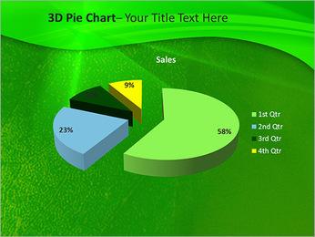 Plante verte dans Sun Light Modèles des présentations  PowerPoint - Diapositives 15