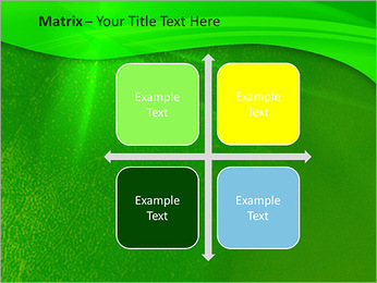 Plante verte dans Sun Light Modèles des présentations  PowerPoint - Diapositives 17