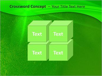 Plante verte dans Sun Light Modèles des présentations  PowerPoint - Diapositives 19