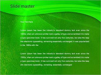 Plante verte dans Sun Light Modèles des présentations  PowerPoint - Diapositives 2