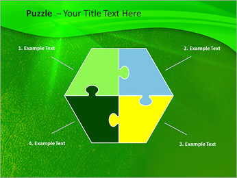 Plante verte dans Sun Light Modèles des présentations  PowerPoint - Diapositives 20