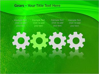Plante verte dans Sun Light Modèles des présentations  PowerPoint - Diapositives 28