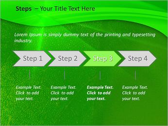 Plante verte dans Sun Light Modèles des présentations  PowerPoint - Diapositives 4