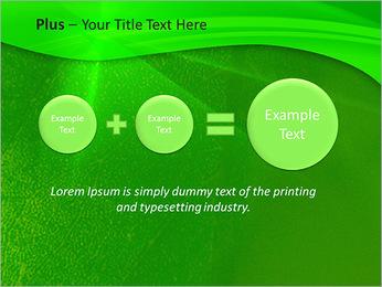 Plante verte dans Sun Light Modèles des présentations  PowerPoint - Diapositives 55