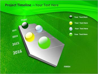 Plante verte dans Sun Light Modèles des présentations  PowerPoint - Diapositives 6