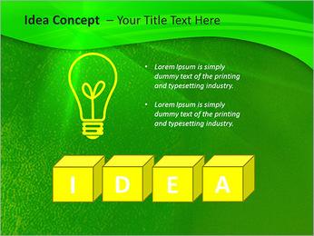 Plante verte dans Sun Light Modèles des présentations  PowerPoint - Diapositives 60