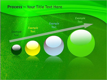 Plante verte dans Sun Light Modèles des présentations  PowerPoint - Diapositives 67