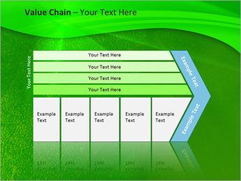 Plante verte dans Sun Light Modèles des présentations  PowerPoint - Diapositives 7