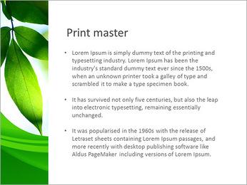 Plante verte dans Sun Light Modèles des présentations  PowerPoint - Diapositives 76