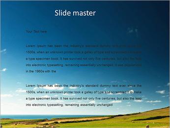 Sheaf InThe Field PowerPoint Template - Slide 2