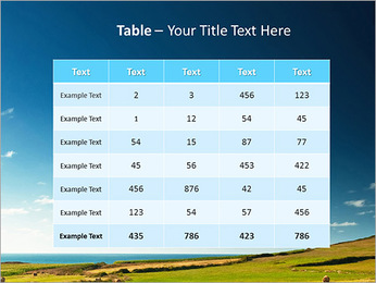Sheaf InThe Field PowerPoint Template - Slide 35