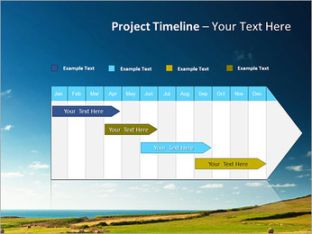Sheaf InThe Field PowerPoint Template - Slide 5