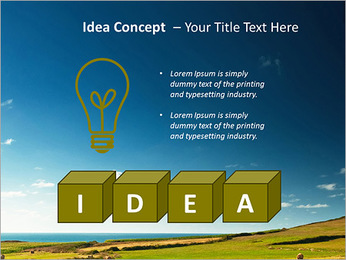 Sheaf InThe Field PowerPoint Template - Slide 60