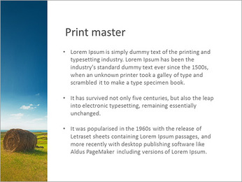 Sheaf InThe Field PowerPoint Template - Slide 76