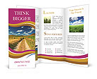 Countryside Road Brochure Templates