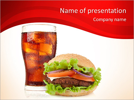 coca cola - powerpoint template - smiletemplates, Modern powerpoint