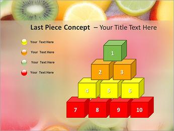 Les tranches de fruits Modèles des présentations  PowerPoint - Diapositives 11