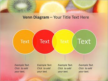 Les tranches de fruits Modèles des présentations  PowerPoint - Diapositives 12