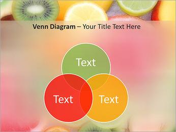 Les tranches de fruits Modèles des présentations  PowerPoint - Diapositives 13