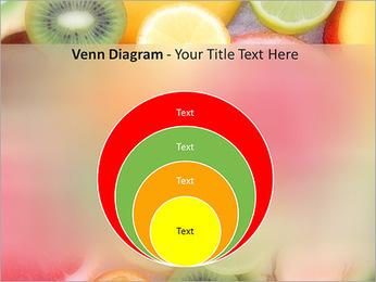 Les tranches de fruits Modèles des présentations  PowerPoint - Diapositives 14