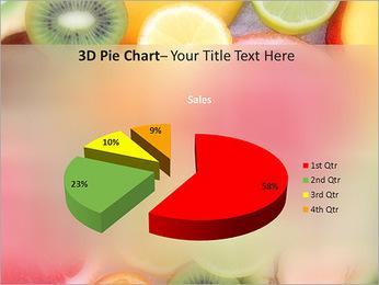 Les tranches de fruits Modèles des présentations  PowerPoint - Diapositives 15