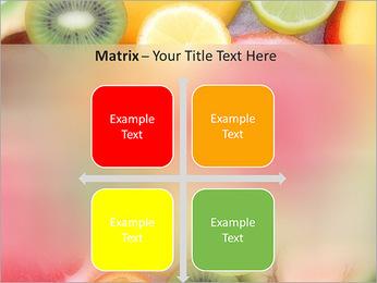 Les tranches de fruits Modèles des présentations  PowerPoint - Diapositives 17
