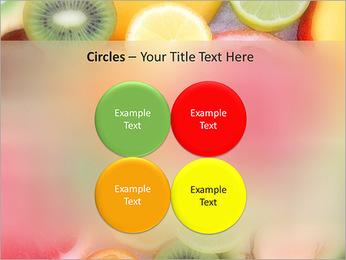 Les tranches de fruits Modèles des présentations  PowerPoint - Diapositives 18